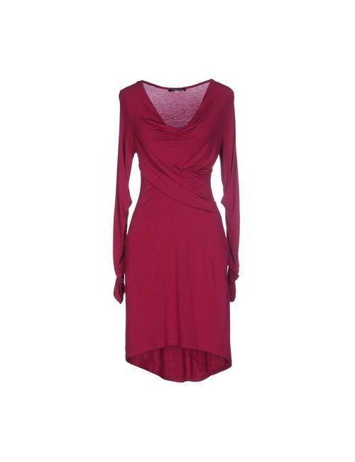 Patrizia Pepe | Женское Фиолетовое Короткое Платье