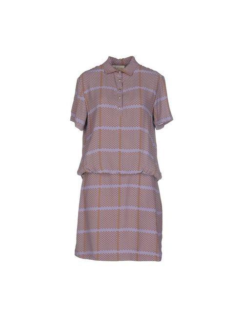 Alysi | Женское Фиолетовое Короткое Платье