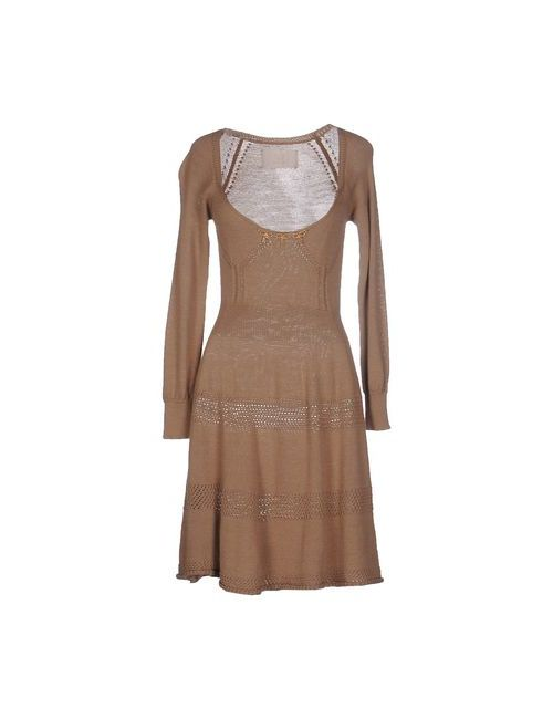 Betty Blue | Женское Верблюжье Короткое Платье