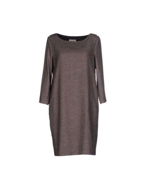 Niu' | Женское Коричневое Короткое Платье