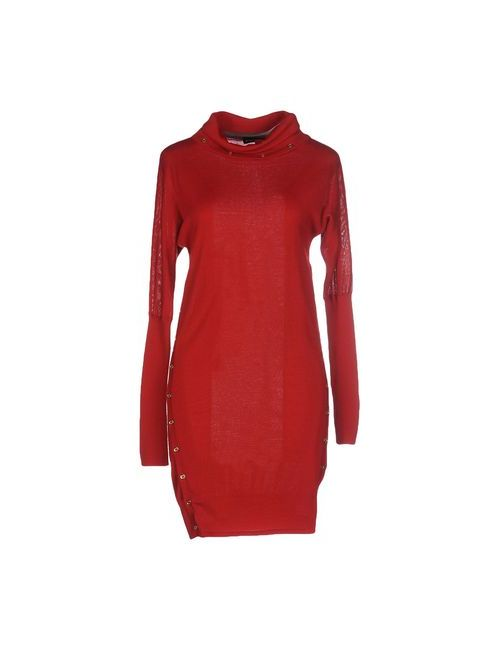 Who*S Who | Женское Красное Короткое Платье