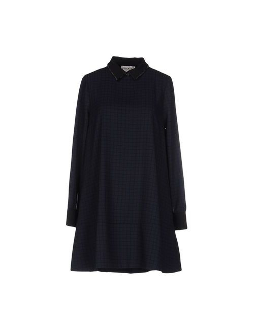 Essentiel | Женское Синее Короткое Платье