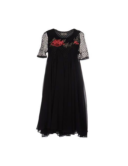 Molly Bracken | Женское Чёрное Платье До Колена