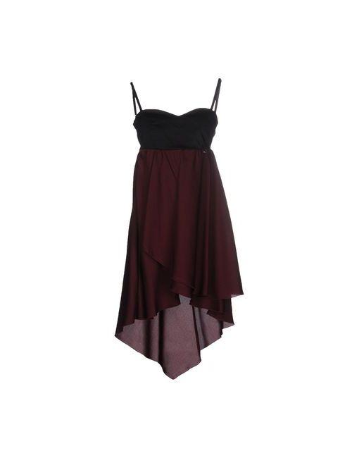 Mangano | Женское Коричневое Короткое Платье