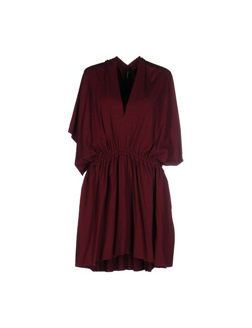 Pianurastudio | Женское Коричневое Короткое Платье