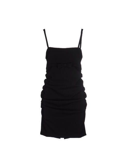Twin-Set Simona Barbieri | Женское Чёрное Короткое Платье