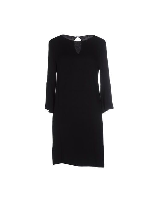 Pinko Grey | Женское Чёрное Короткое Платье