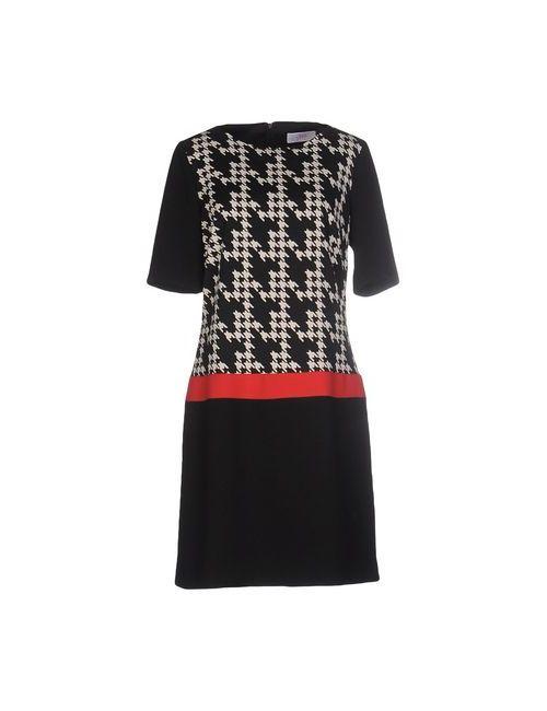 Clips More | Женское Чёрное Короткое Платье