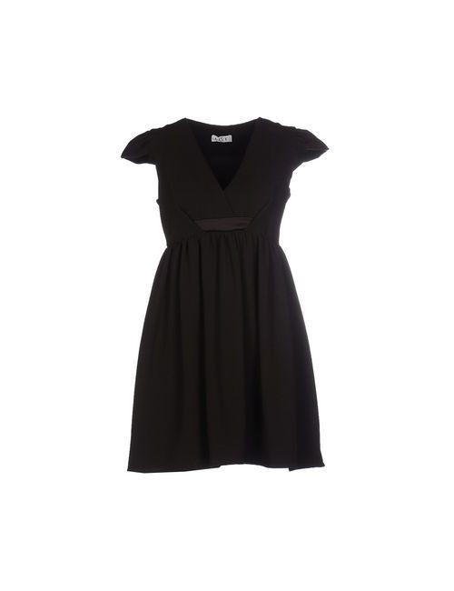 List | Женское Коричневое Короткое Платье