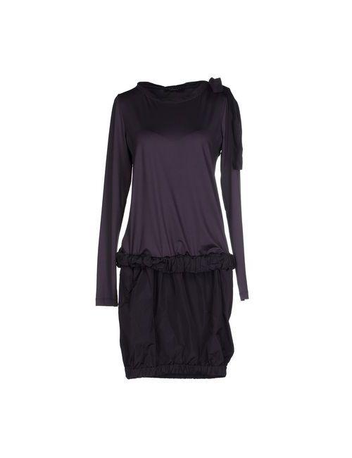 Twin-Set Simona Barbieri | Женское Фиолетовое Короткое Платье