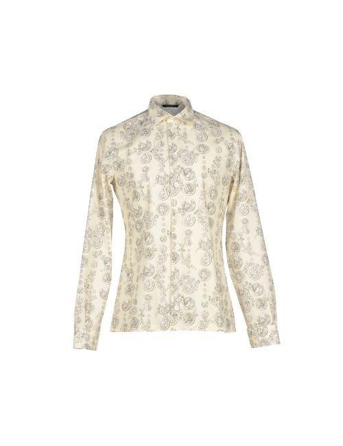 Dolce & Gabbana | Мужская Слоновая Кость Pубашка