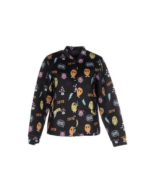American Retro   Женская Черный Куртка