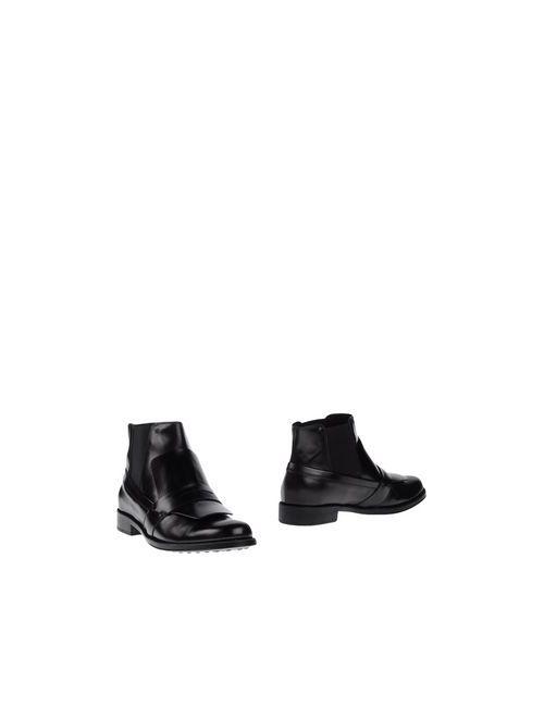 Tod'S | Мужские Чёрные Полусапоги И Высокие Ботинки