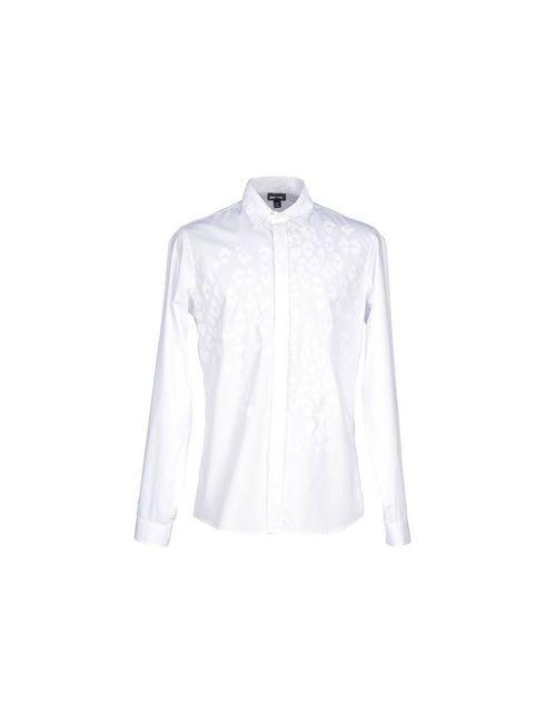 Just Cavalli   Мужская Белая Pубашка
