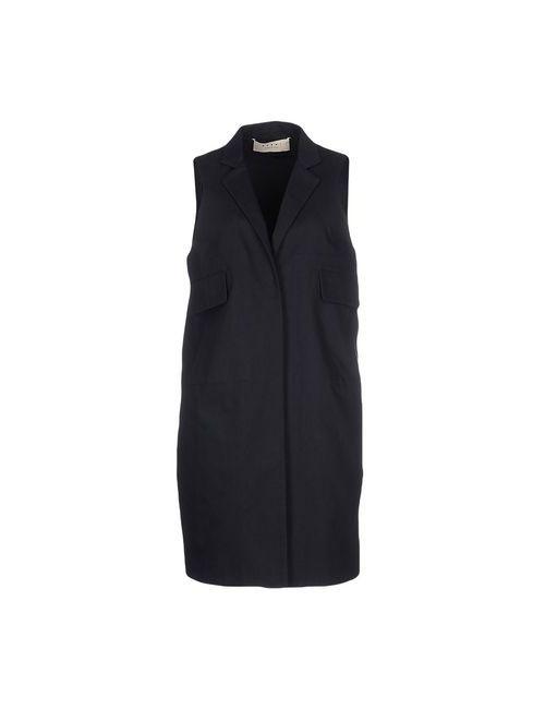 Marni | Женское Чёрное Легкое Пальто