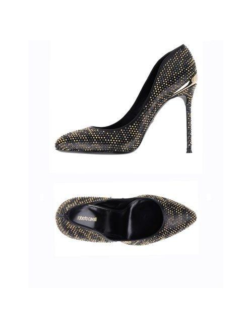 Roberto Cavalli | Женские Чёрные Туфли