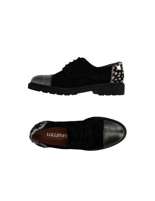 Lollipops | Мужская Черный Обувь На Шнурках