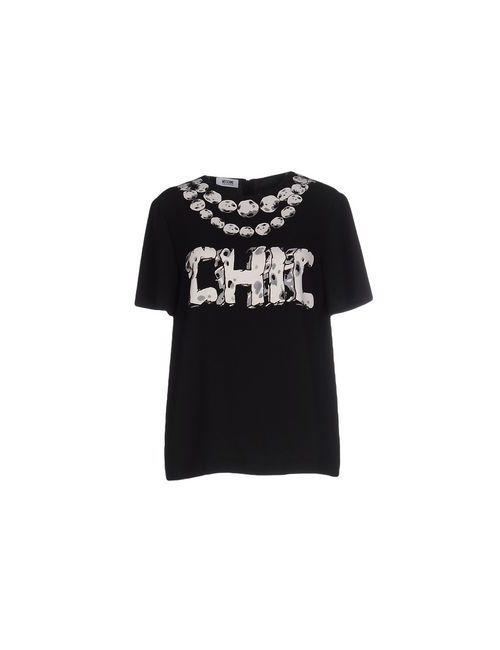 Moschino Cheap and Chic | Женская Чёрная Блузка