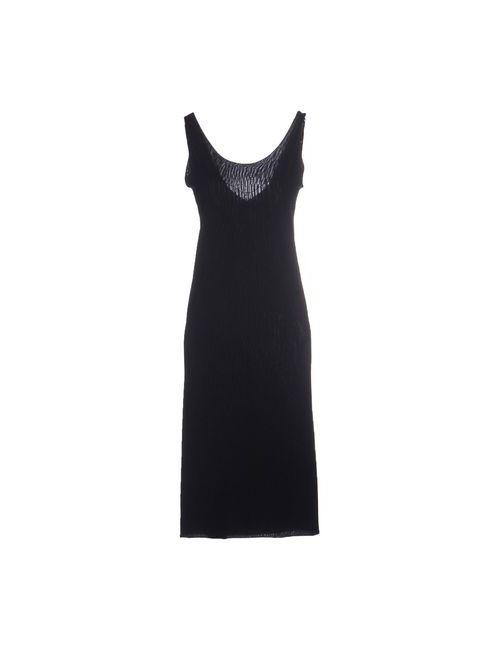 Almeria | Женское Синее Платье До Колена