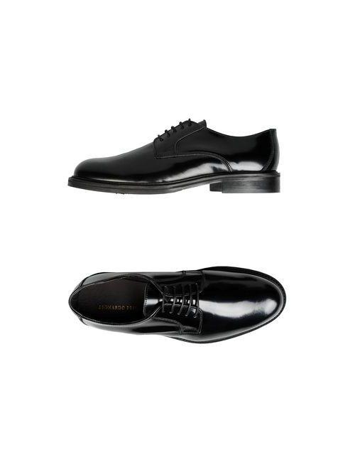Leonardo Principi | Мужская Черный Обувь На Шнурках