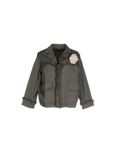 LA MÊME ROAD   Женская Зелёная Куртка