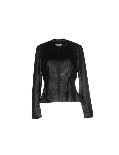 Biancoghiaccio | Женская Чёрная Куртка