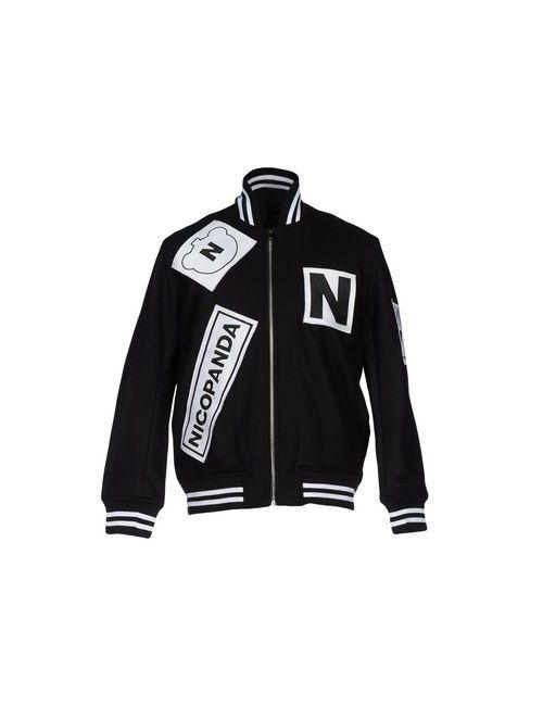 NICOPANDA   Женская Чёрная Куртка