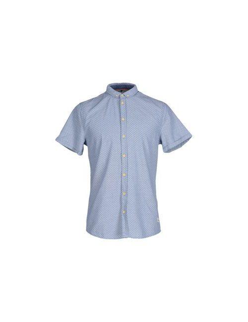 Blend | Мужская Голуба Pубашка