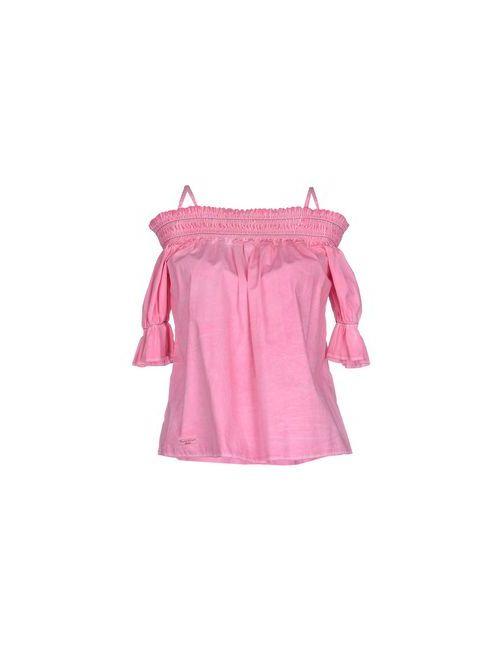 Manila Grace Denim   Женская Розовая Блузка