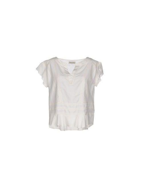 Soho De Luxe | Женская Белая Блузка