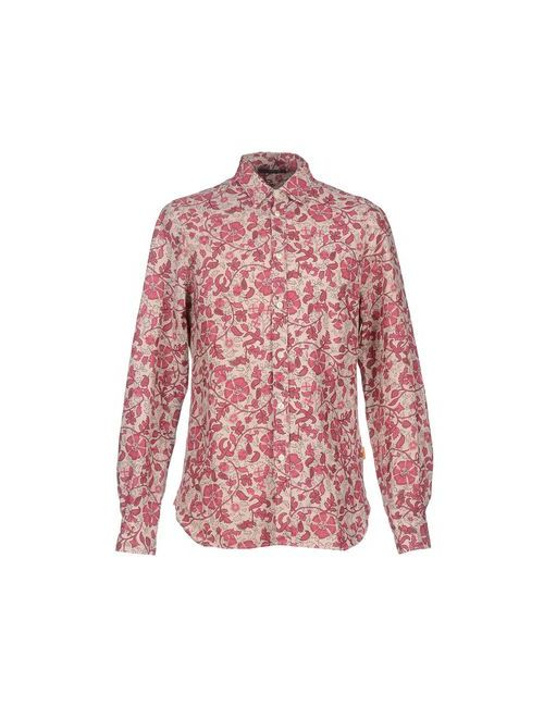 Meltin Pot | Мужская Фиолетовая Pубашка