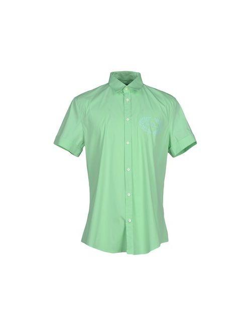 Bikkembergs | Мужская Зелёная Pубашка