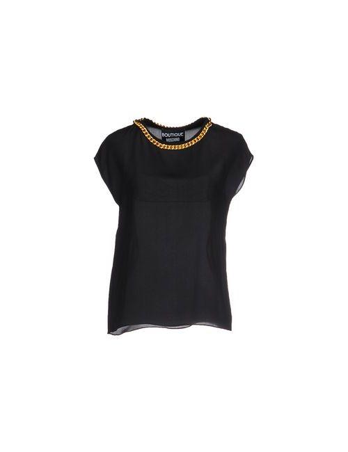 BOUTIQUE MOSCHINO | Женская Чёрная Блузка