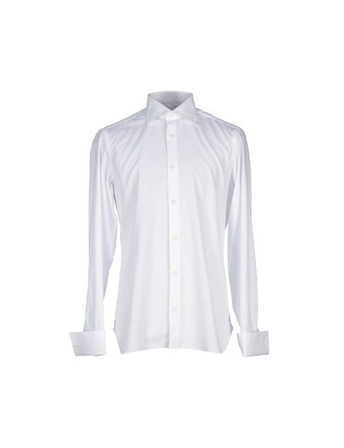 Luigi Borrelli Napoli | Мужская Белая Pубашка