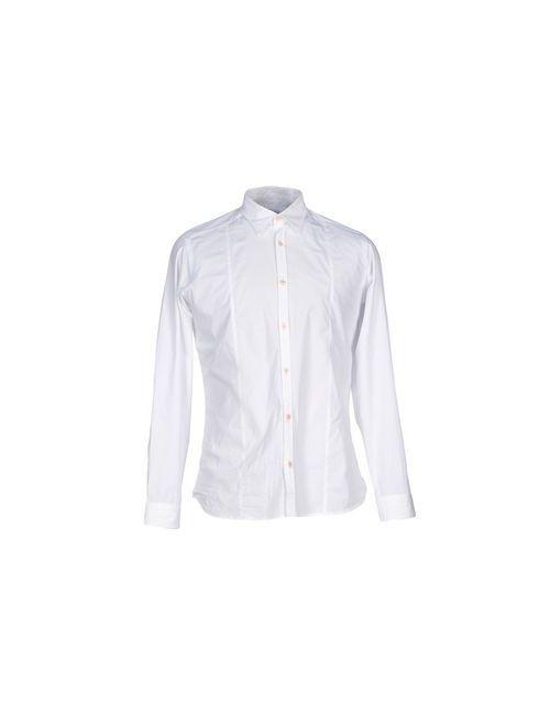 LONDON | Мужская Белая Pубашка