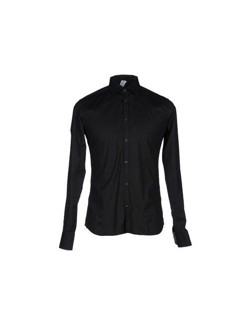Etichetta 35 | Мужская Черный Pубашка