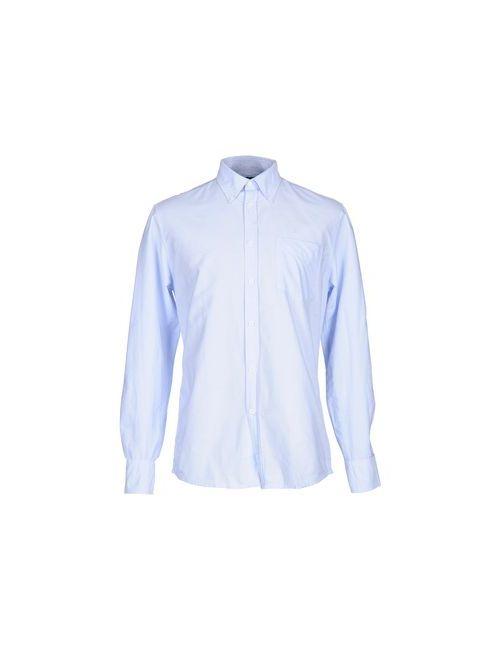 Deperlu | Мужская Голуба Pубашка