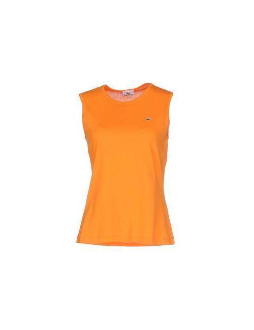 Lacoste | Женская Оранжевая Майка