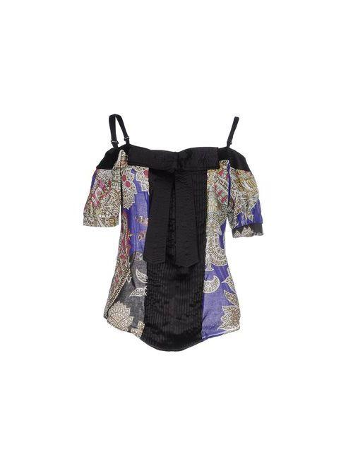 Just Cavalli | Женская Фиолетовая Блузка