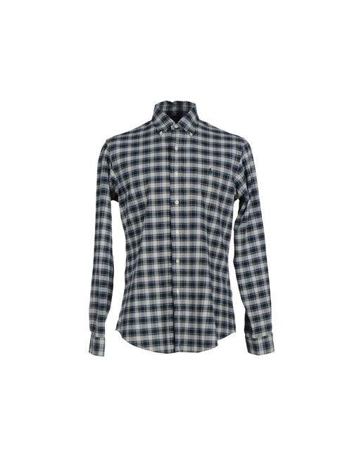 Polo Ralph Lauren | Мужская Зелёная Pубашка