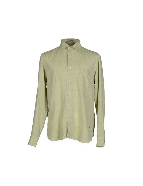 Fay | Мужская Зелёная Pубашка