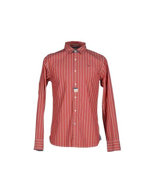 Tommy Hilfiger Denim | Мужская Красная Pубашка