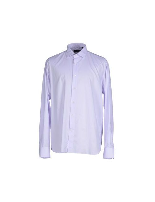 Les Copains | Мужская Фиолетовая Pубашка