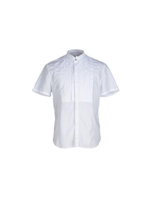 Paolo Pecora | Мужская Белая Pубашка