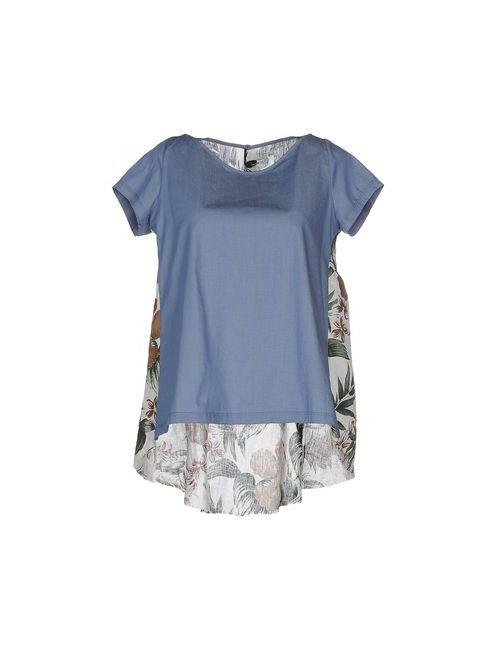 Etichetta 35   Женская Синяя Блузка
