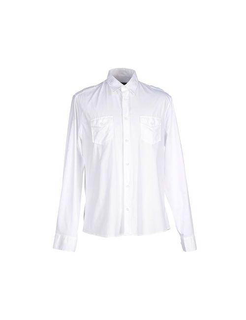 Blauer | Мужская Белая Pубашка