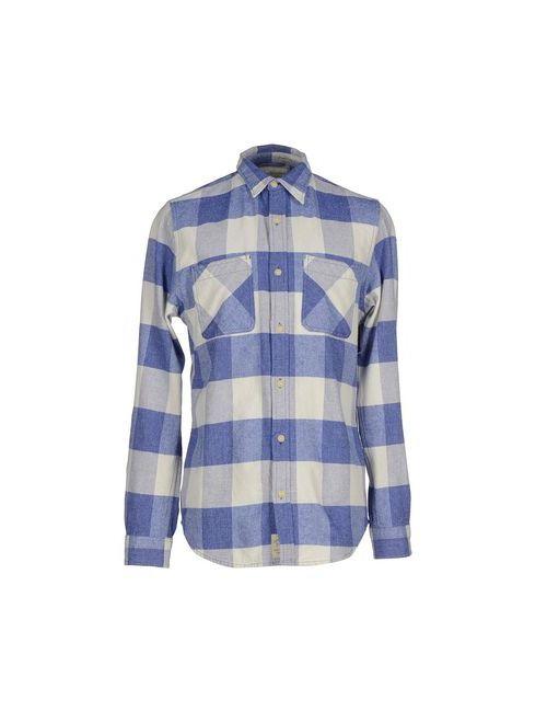 Denim & Supply Ralph Lauren | Мужская Синяя Pубашка