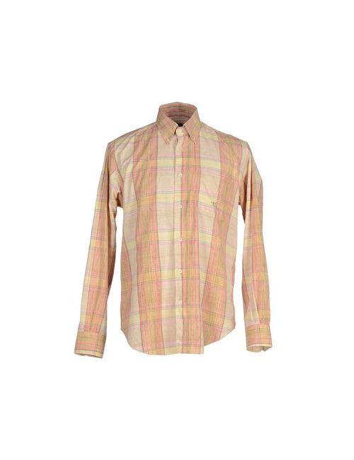 Henry Cotton's   Мужская Жёлтая Pубашка