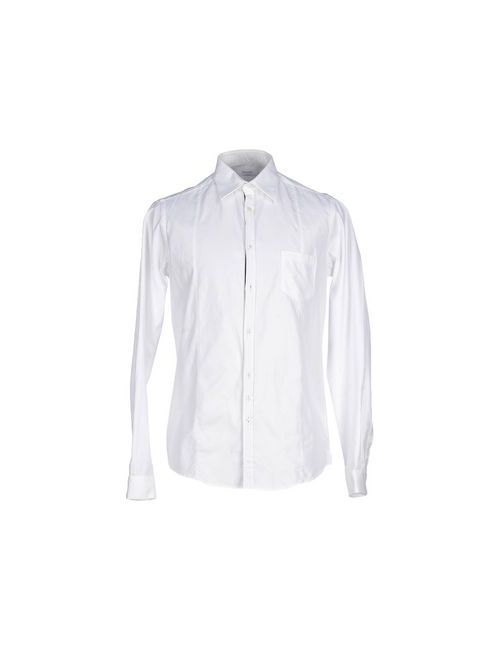 Aglini   Мужская Белая Pубашка