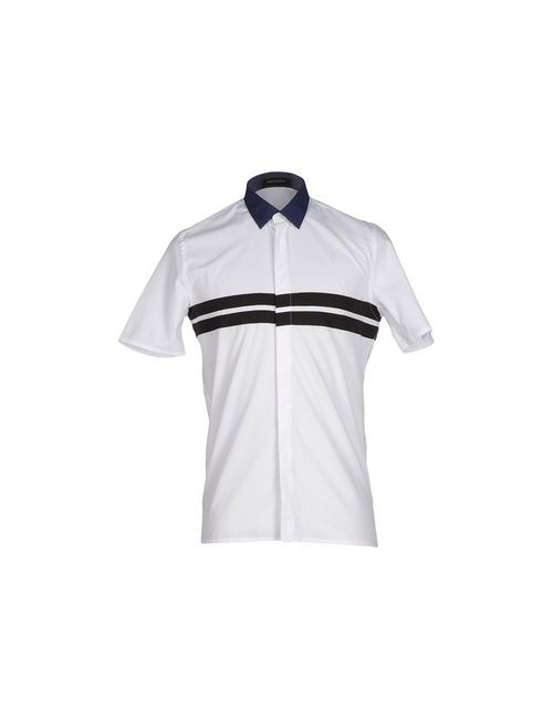 Kris Van Assche | Мужская Белая Pубашка